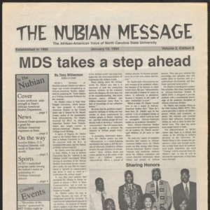 Nubian Message, January 13, 1994