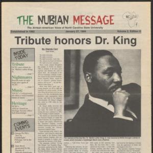 Nubian Message, January 27, 1994