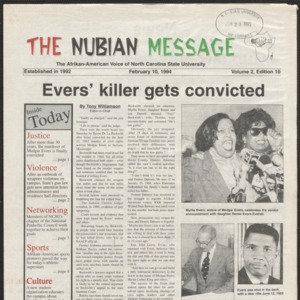 Nubian Message, February 10, 1994