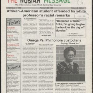 Nubian Message, February 24, 1994
