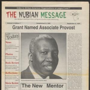 Nubian Message, September 8, 1994