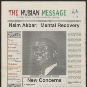 Nubian Message, October 20, 1994