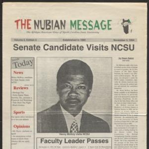 Nubian Message, November 3, 1994