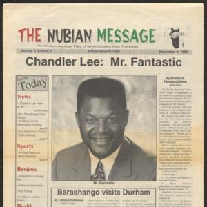 Nubian Message, December 8, 1994