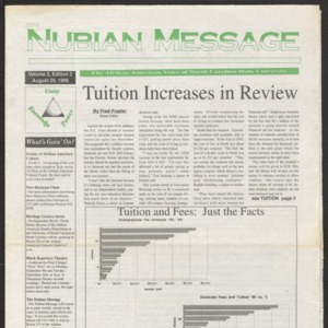 Nubian Message, August 29, 1996