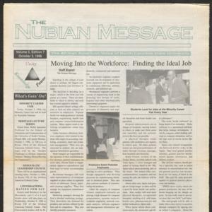 Nubian Message, October 3, 1996