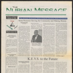 Nubian Message, October 10, 1996