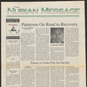 Nubian Message, November 7, 1996