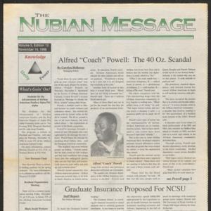 Nubian Message, November 14, 1996