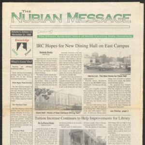 Nubian Message, November 21, 1996