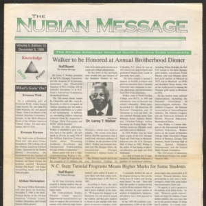 Nubian Message, December 5, 1996