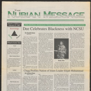 Nubian Message, February 27, 1997