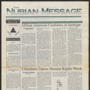Nubian Message, March 27, 1997