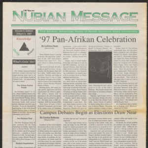 Nubian Message, April 3, 1997