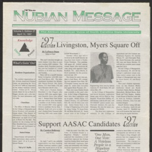 Nubian Message, April 10, 1997