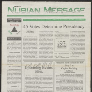 Nubian Message, April 17, 1997