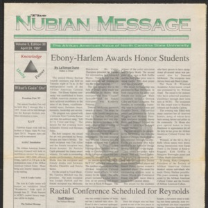 Nubian Message, April 24, 1997