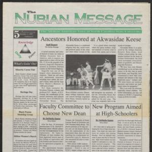 Nubian Message, October 2, 1997