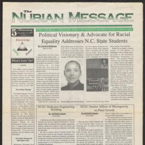 Nubian Message, November 13, 1997