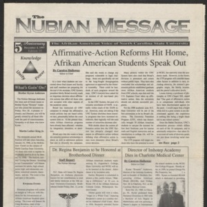 Nubian Message, December 4, 1997