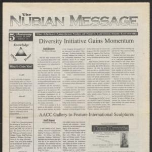 Nubian Message, January 29, 1998