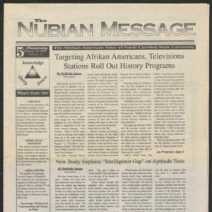 Nubian Message, February 12, 1998