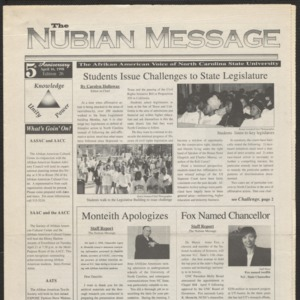 Nubian Message, April 16, 1998