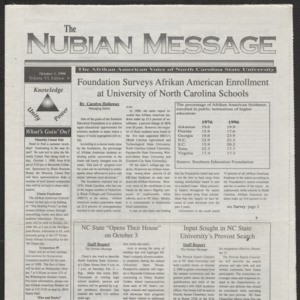 Nubian Message, October 1, 1998
