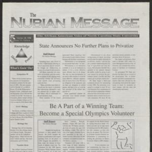 Nubian Message, October 22, 1998