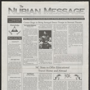 Nubian Message, October 29, 1998