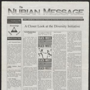 Nubian Message, November 12, 1998