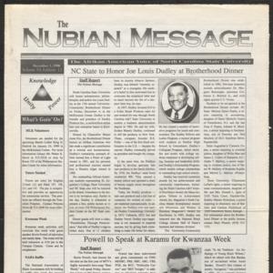 Nubian Message, December 3, 1998