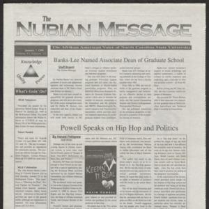 Nubian Message, January 7, 1999