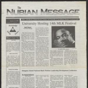 Nubian Message, January 14, 1999