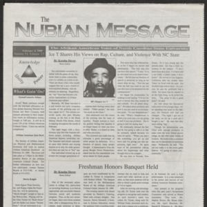Nubian Message, February 4, 1999