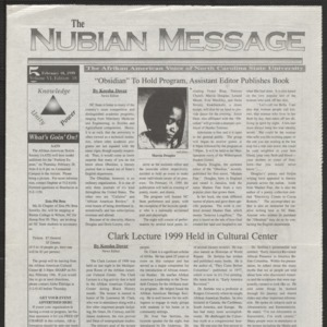 Nubian Message, February 18, 1999