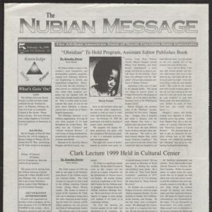 Nubian Message, February 18, 1999