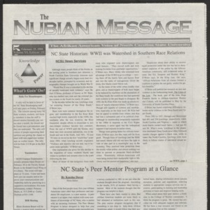 Nubian Message, February 25, 1999