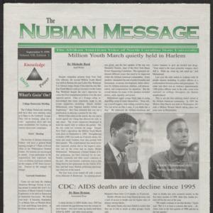 Nubian Message, September 9, 1999
