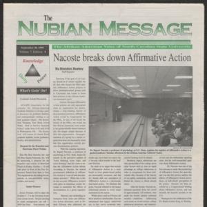 Nubian Message, September 30, 1999