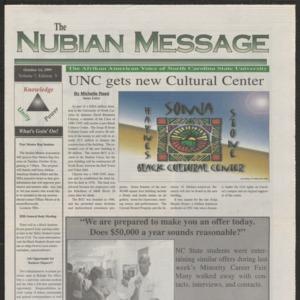 Nubian Message, October 14, 1999