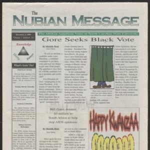 Nubian Message, December 2, 1999