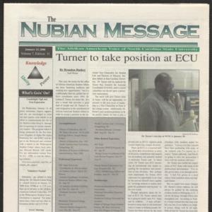 Nubian Message, January 13, 2000