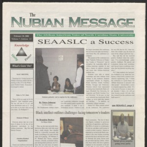 Nubian Message, February 10, 2000