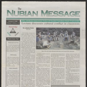 Nubian Message, February 17, 2000