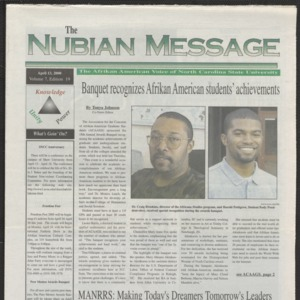 Nubian Message, April 13, 2000