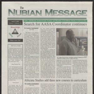 Nubian Message, April 6, 2000