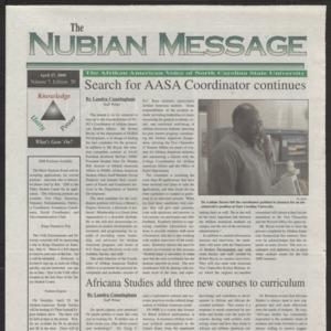 Nubian Message, April 6, 2000