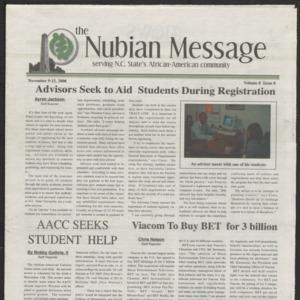 Nubian Message, November 9, 2000
