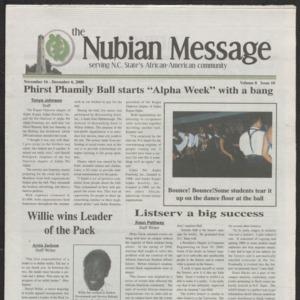 Nubian Message, November 16, 2000